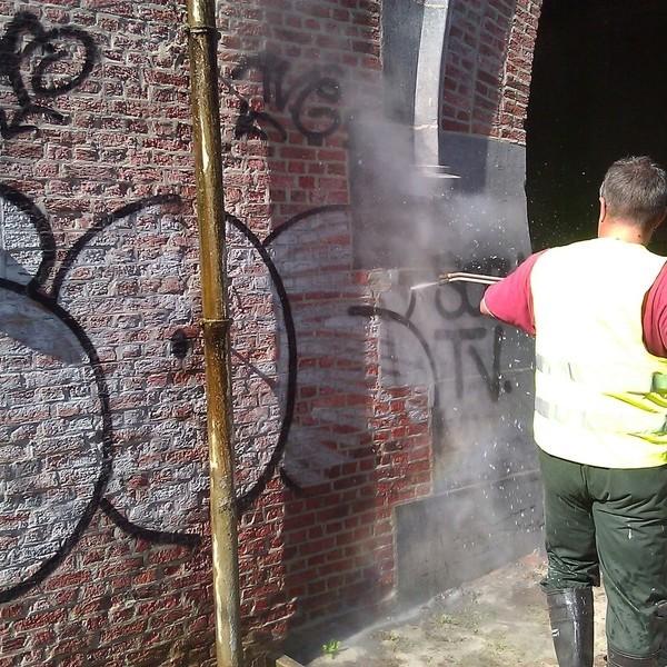 TM Technics - Grafitti verwijderen
